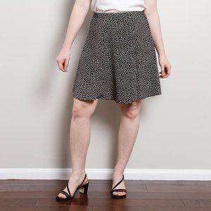 90s Floral A-Line Skirt